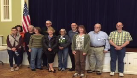 Bear Lake Michigan Waterfront Home Owners Gather