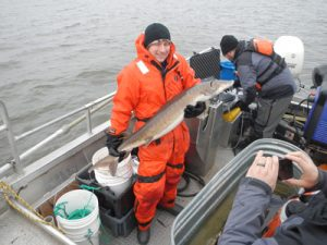 Lake Sturgeon rehabilitation in michigan